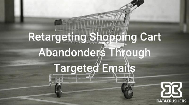 re-targeting shopping cart