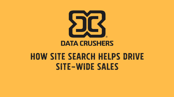 How Site Search helps Drive Site-Wide Sales