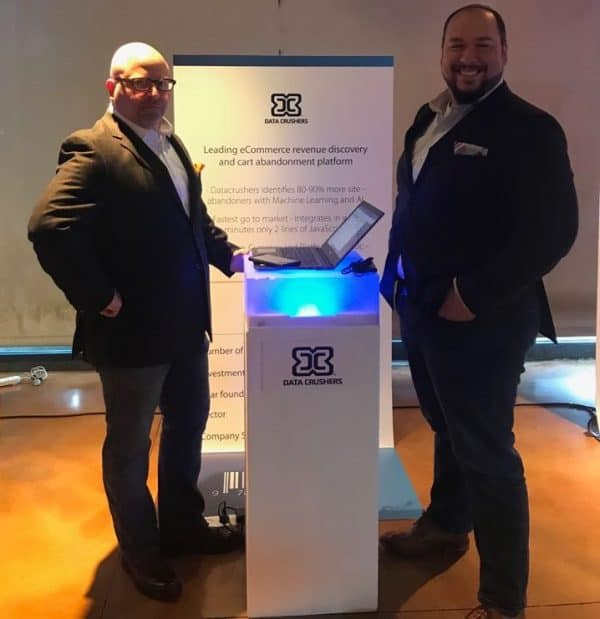 CEO James Oppenheim (left) With CRO Jeffrey Tower (right) during the conference hosted by VISA.