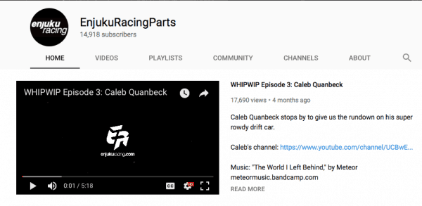 Enjuku YouTube Channel