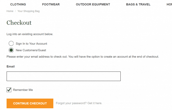 Guest Checkout Reduces Cart Abandonment