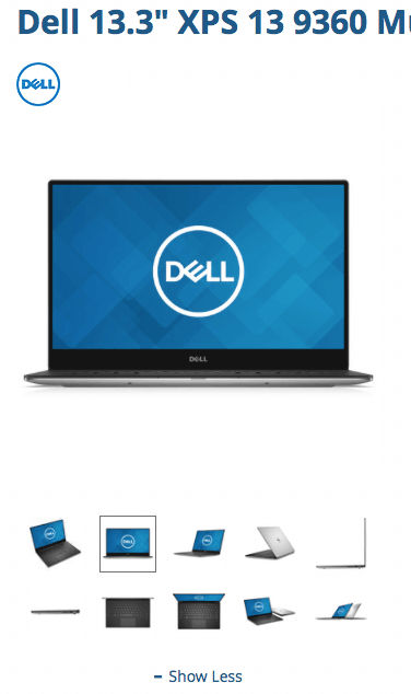 Dell XPS 13 B&H