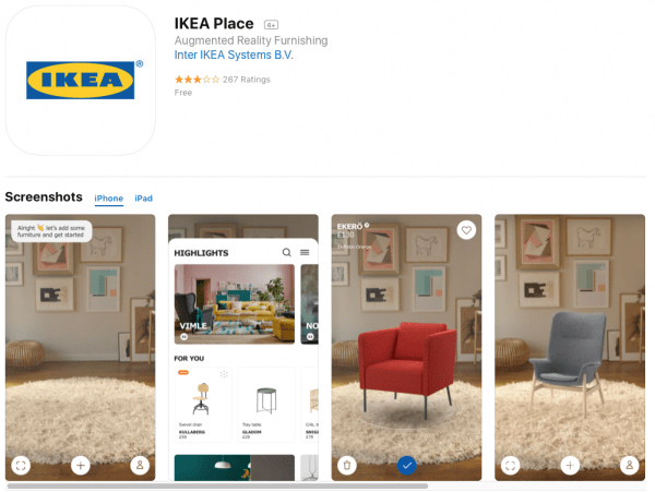 Ikea AR Shopping
