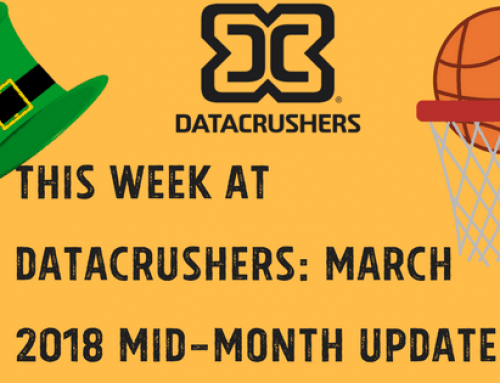 This Week at Datacrushers: March 2018 Mid-Month Update!