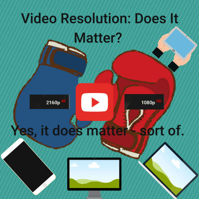 Video Resolution Does It Matter